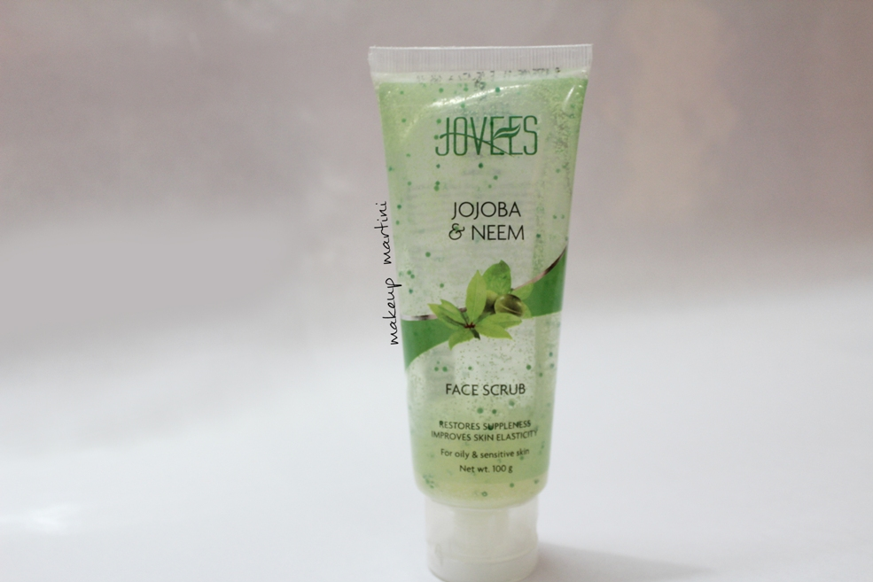 Jovees Jojoba and Neem Face Scrub Review
