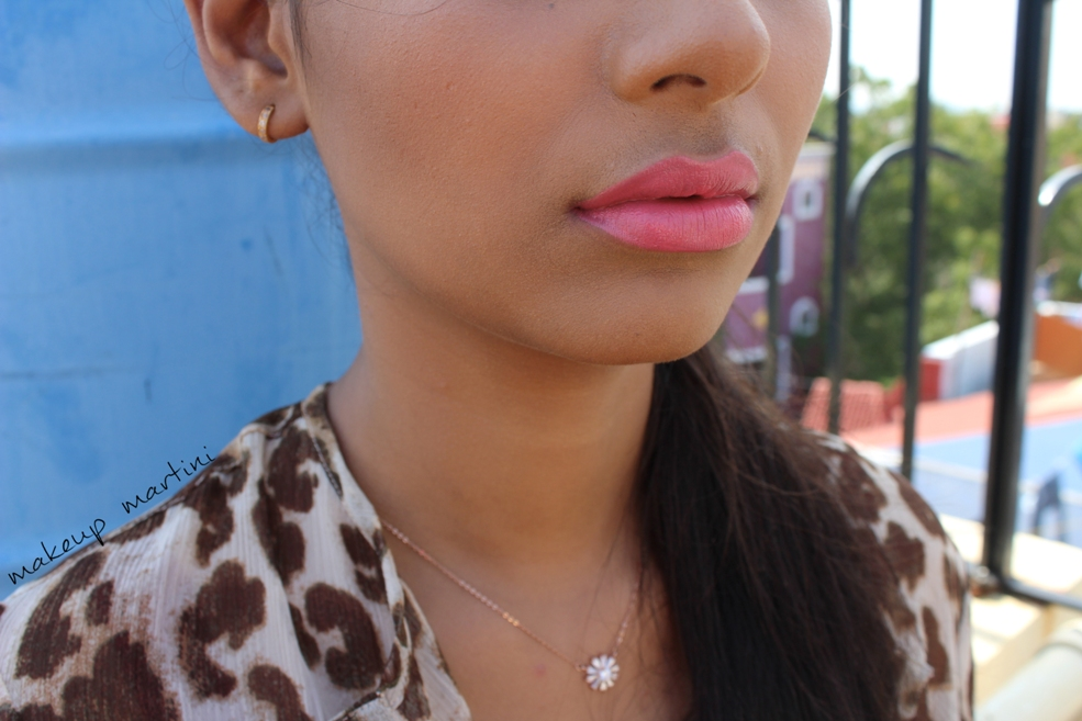 LA Girl Luxury Creme Lip Color Endless Kisses Lip Swatch