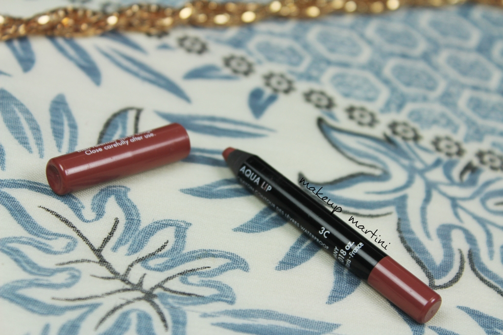 Makeup Forever Aqua Lip Liner 3C Review
