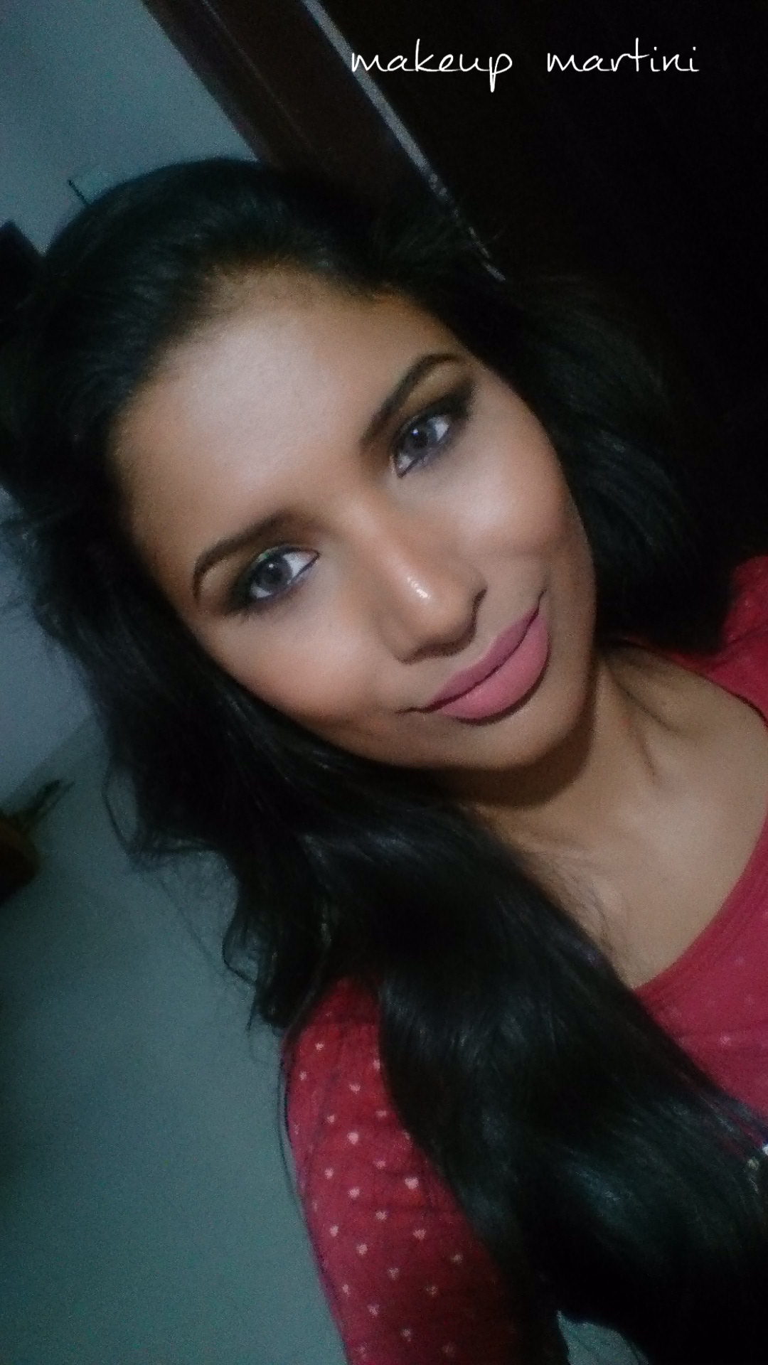 Makeup Forever Aqua Lip Liner 3C lip swatch