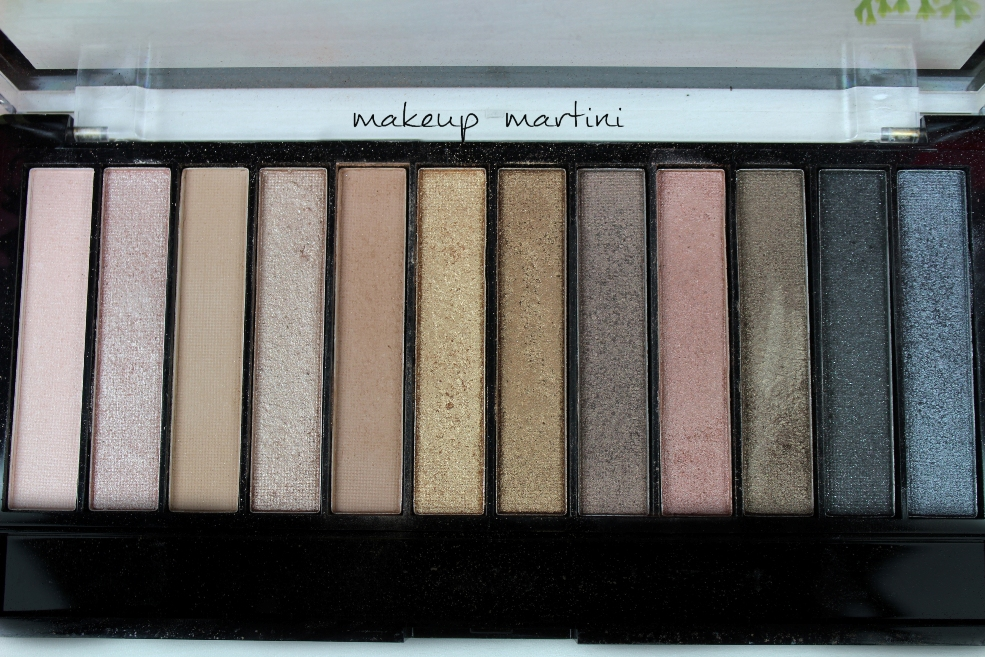 Makeup Revolution Iconic 1 Redemption Palette Shades