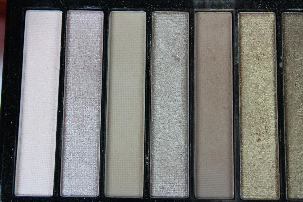 Makeup Revolution Redemption Palette Shades