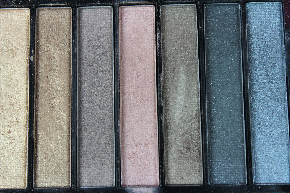 Makeup Revolution Iconic 1 Palette Shades
