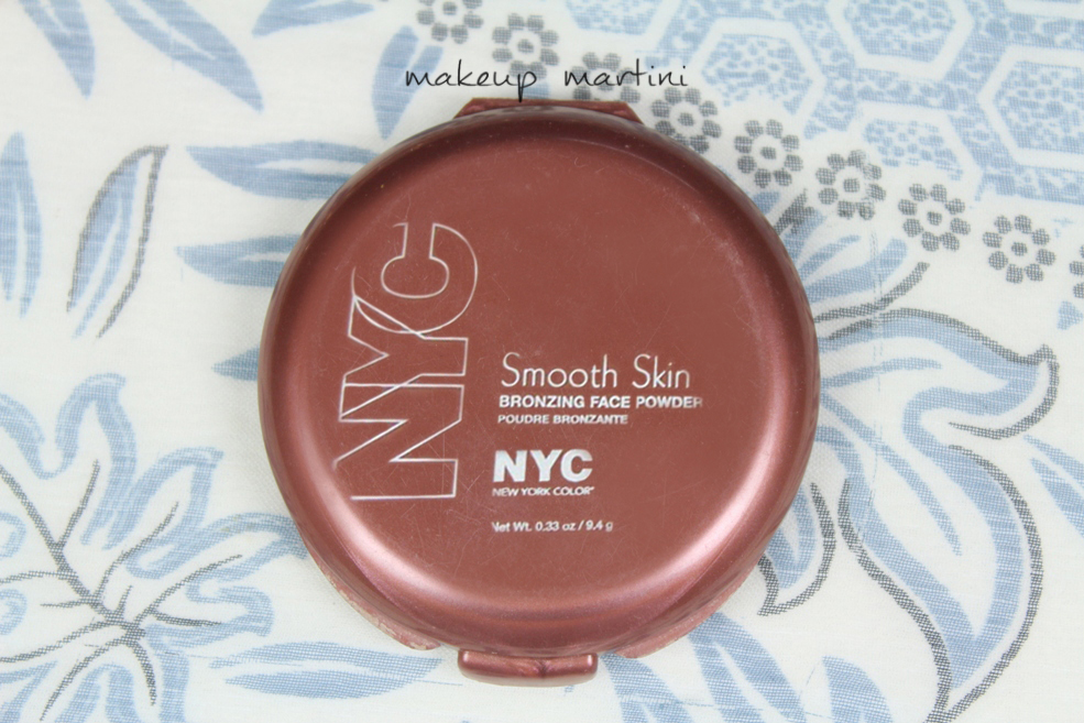 NYC Smooth Skin Bronzing Face Powder Sunny Review