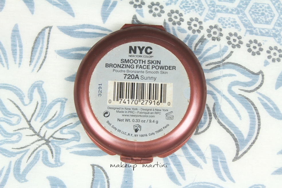 NYC Sunny Bronzer Review and Price