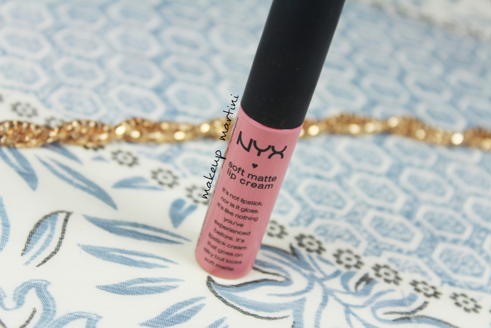 NYX Soft Matte Lip Cream Istanbul Review