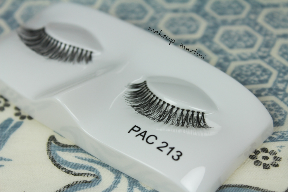 Affordable eyelashes in India: PAC Eyelashes in 213