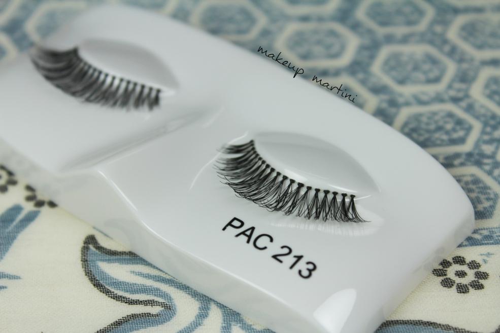 Affordable eyelashes in India: PAC Eyelashes in 213