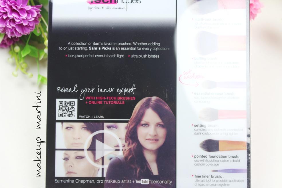 Samantha Chapman exclusive brush set
