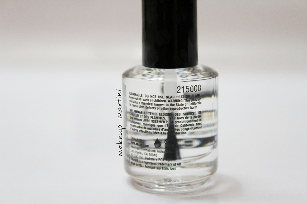 Seche Vite Dry Fast Top Coat Review