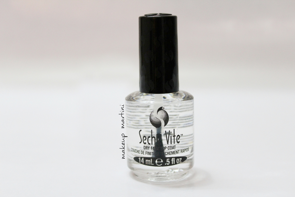 Seche Vite Dry Fast Top Coat Review, Swatch & Price