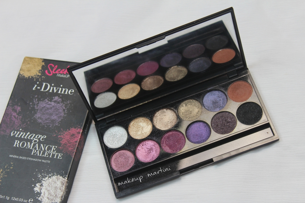 Sleek MakeUP Vintage Romance Palette Review