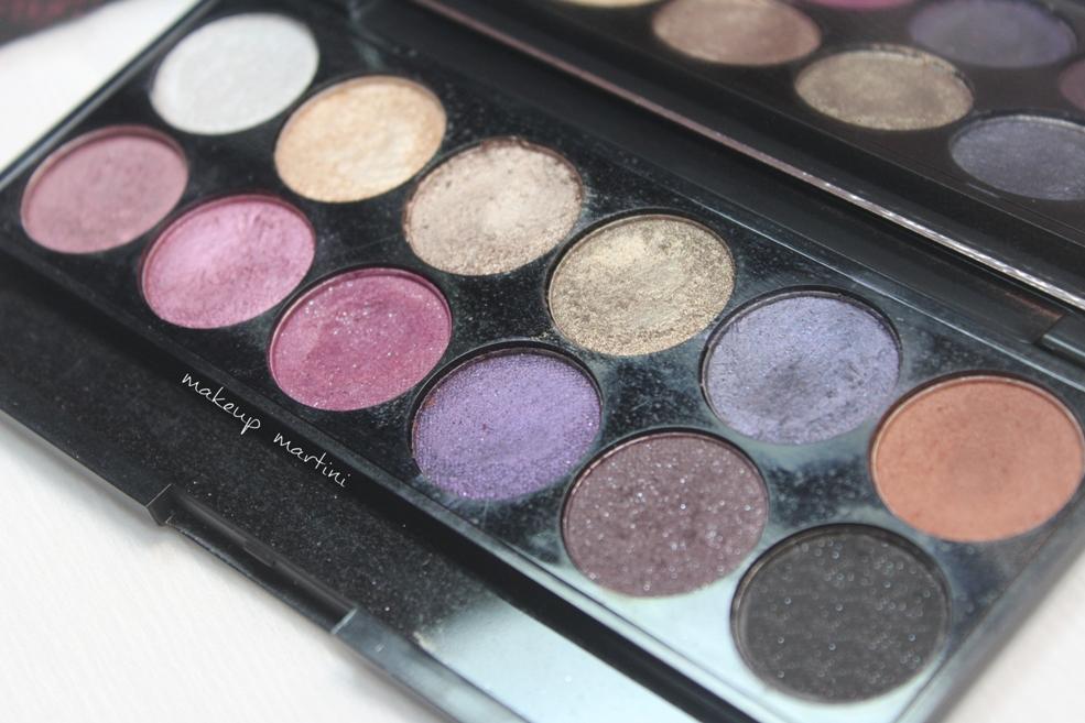 Sleek MakeUP Vintage Romance Palette Shades