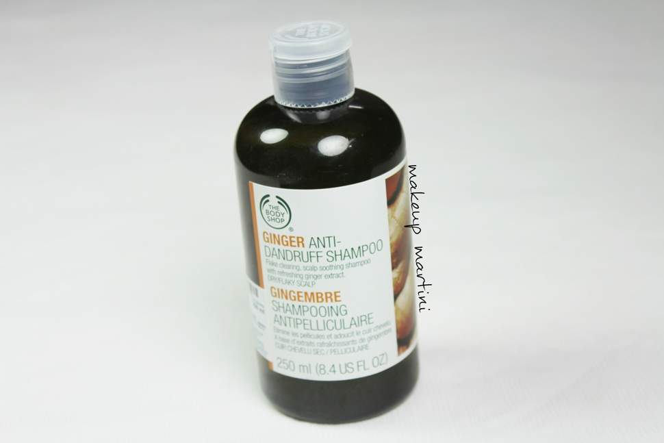 The Body Shop Ginger Anti-Dandruff Shampoo Review