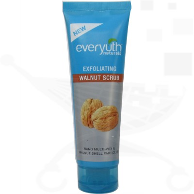 Top 10 Drugstore Face Scrubs For Oily Skin: Everyuth Naturals Walnut Scrub