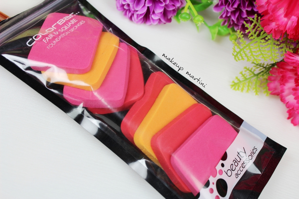 Colorbar Fair & Square Foundation Sponges