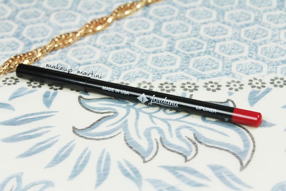 Jordana Lip Liner Classic Red Review
