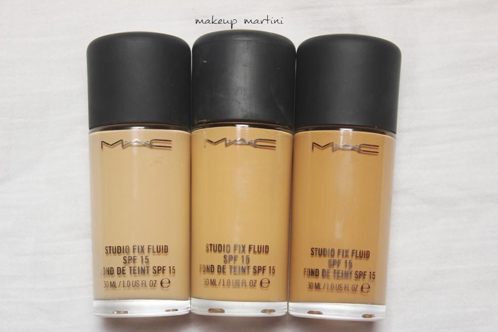 MAC Liquid Foundation NC37, NC42, NC45