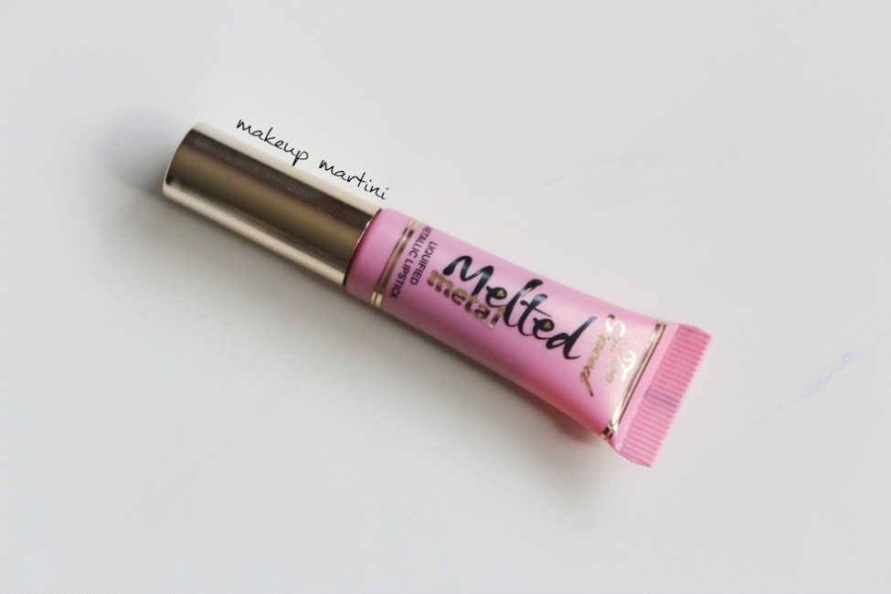 Too Faced Melted Metal Peony Liquid Lipstick