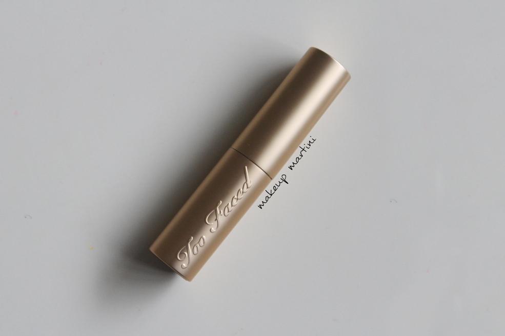 Too Faced La Creme Nude Beach Lipstick