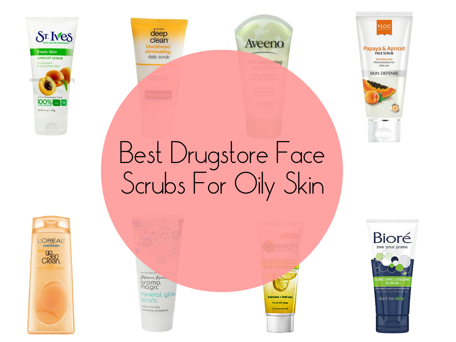 Best Drugstore Face Scrubs For Oily Skin