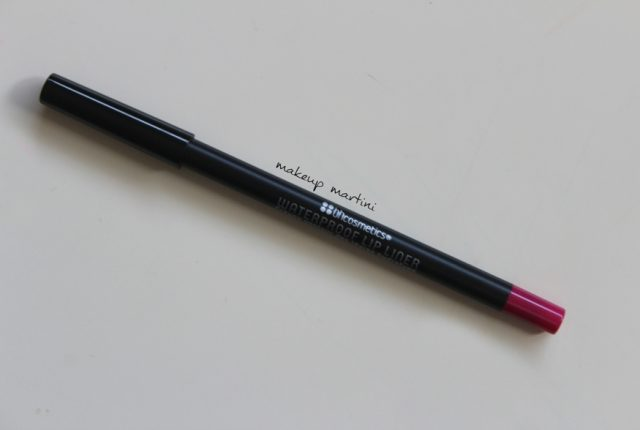 BH Cosmetics Fuchsia Waterproof Lip Liner review