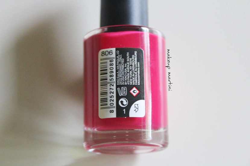 Kiko Milano Quick Dry Nail Lacquer 806 Review, Swatch & Price