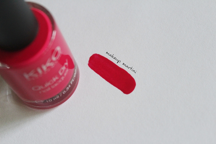 Kiko Milano Nail Lacquer 806 review and swatch