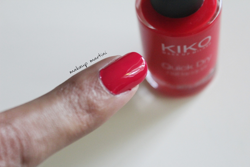 Kiko Milano 806 Nail Lacquer review and swatch