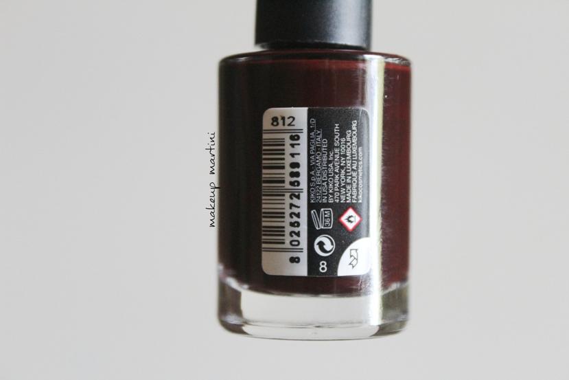 Kiko Milano Quick Dry Nail Lacquer 812 Review