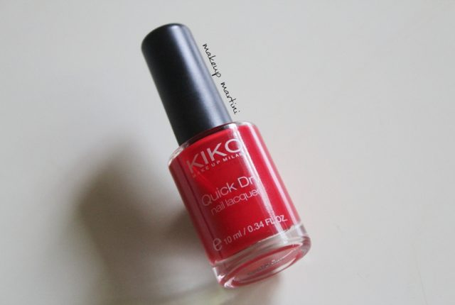 Kiko Milano Quick Dry Nail Lacquer 824 Review