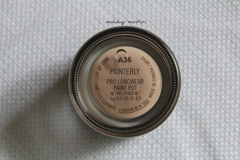 MAC Painterly Paint Pot review and swatch