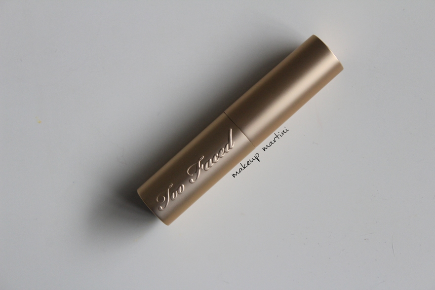 too faced taffy lipstick review