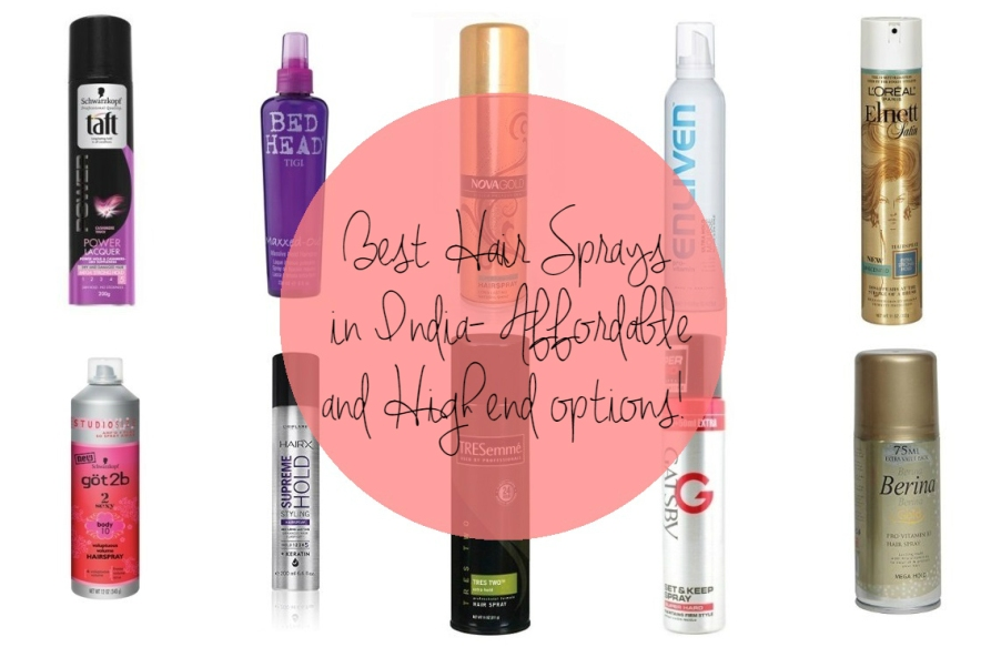 Best Hair Spray In India Affordable & Strong Hold Spray Options