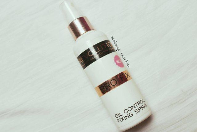 Makeup Revolution Pro Fix Spray review