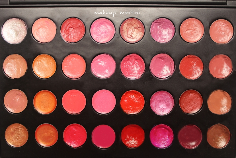coastal scents 32 lip palette review and swatch