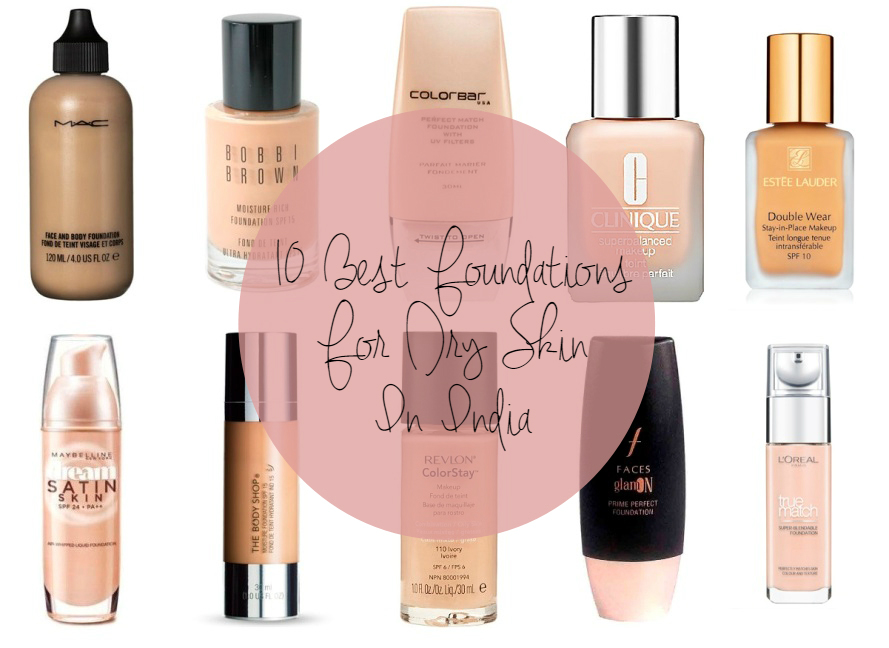dewy foundation for dry skin