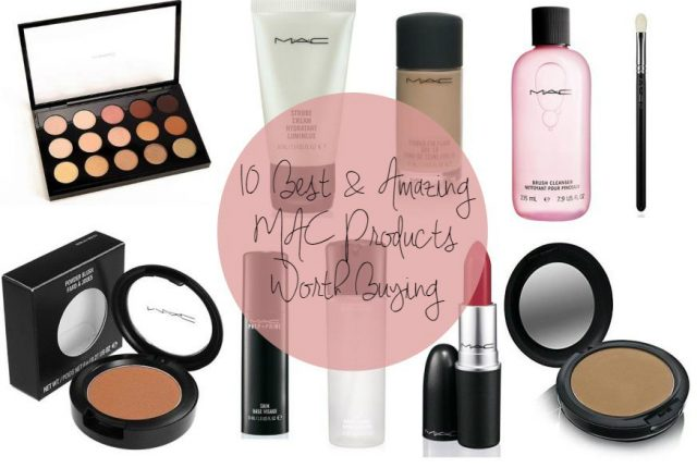 Best selling MAC products