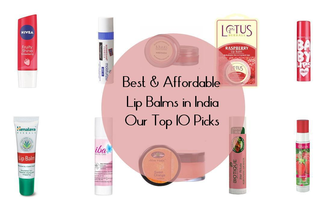 Best Affordable and Budget Friendly Lip Balm In India