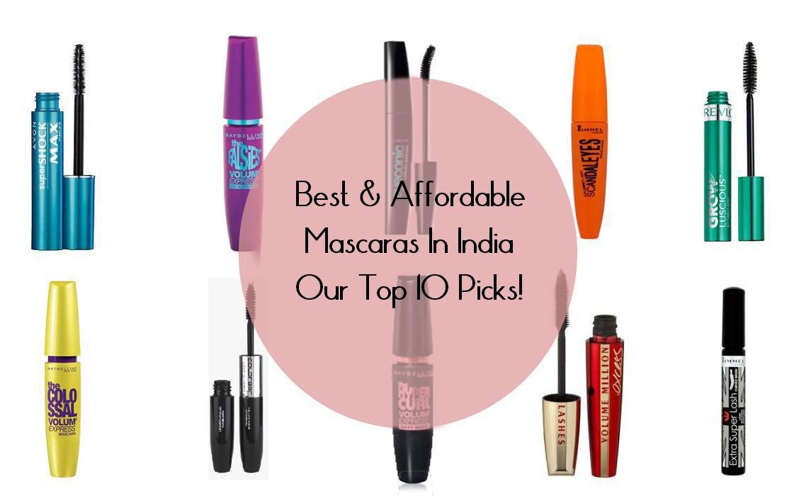 Best Drugstore Mascaras In India