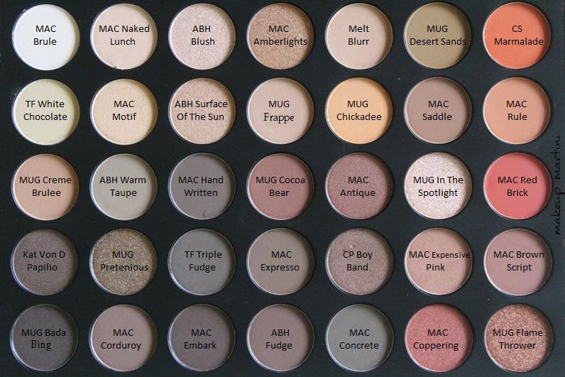Morphe 35O Palette Dupes