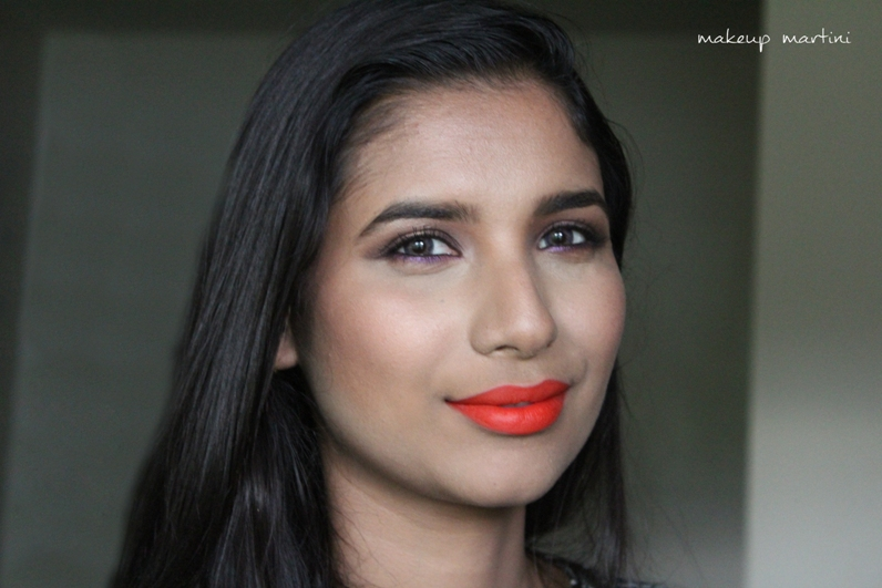 NYX Orange Lip Pencil Review and Swatch