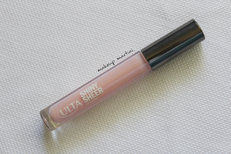 Ulta Pink Shiny Sheer Lip Gloss Review and Swatch