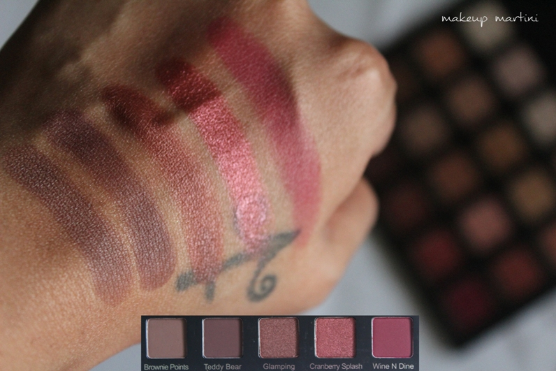 Violet Voss Holy Grail Palette Swatch Row 4