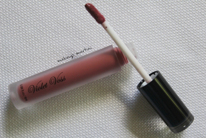 Violet Voss Liquid Lipstick Wasted Review and Swatch
