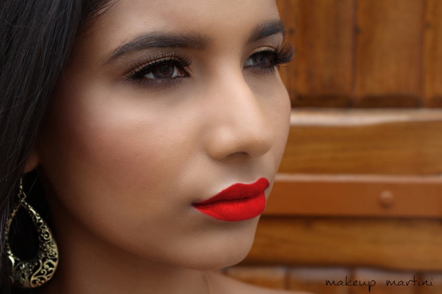 Wet N Wild Stoplight Red Lipstick Swatch