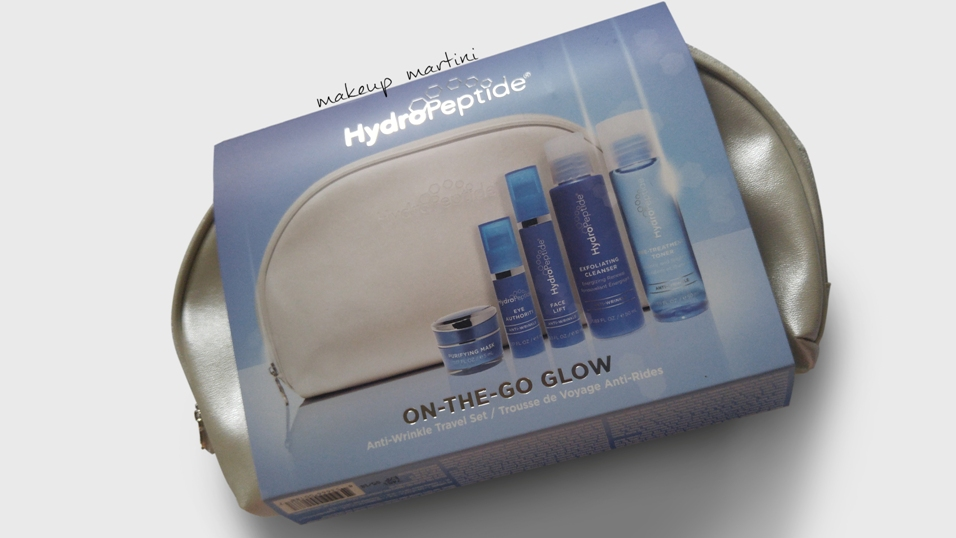 Hydropeptide On The Glow Travel Set Review