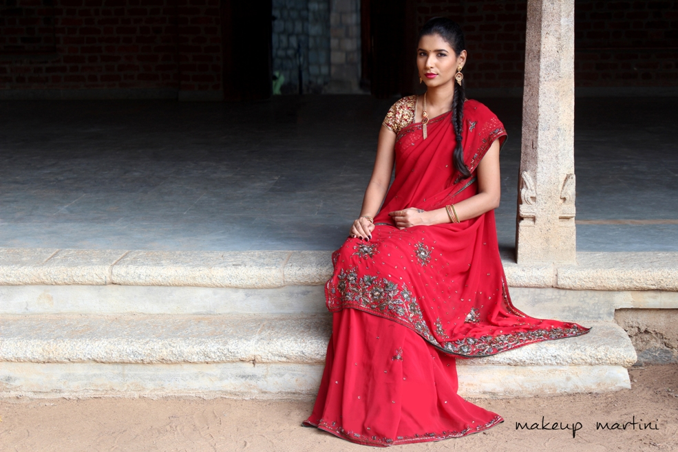 Styling Traditional Indian Saree