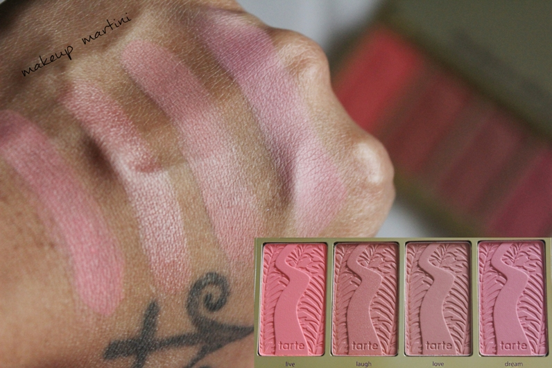 Tarte Blush Palette Review and Swatch