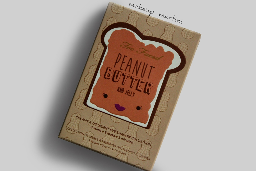 Too Faced Peanut Butter and Jelly Palette Original Review